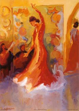 El Vestido Rojo by Sharon Carson