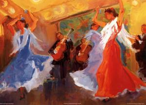 La Celebracion del Baile by Sharon Carson