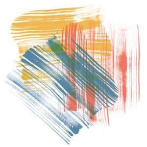 Color Swipe II by Sharon Chandler