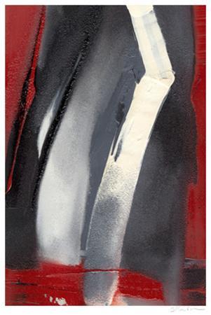 Red Streak III by Sharon Gordon