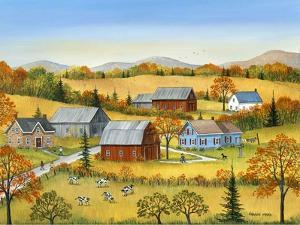 Farm In The Fall by Sharon Mark