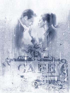 Cafe Bleu II by Sharon Pinsker