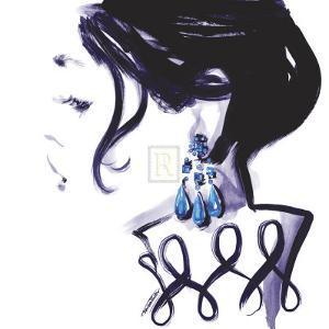 Earrings by Sharon Pinsker
