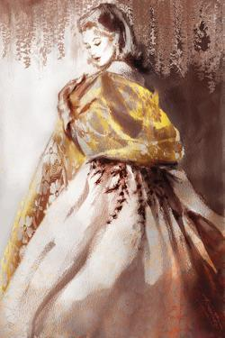 Wisteria Alba by Sharon Pinsker