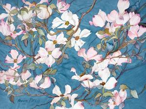 Dogwoods, Pink by Sharon Pitts