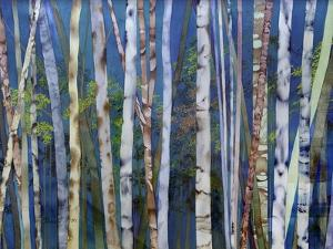 Mystery of Trees-Birches by Sharon Pitts