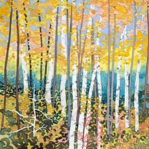 Mystery of Trees V by Sharon Pitts