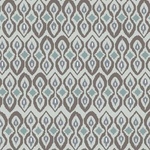 Cool Boardwalk Ikat by Sharon Turner
