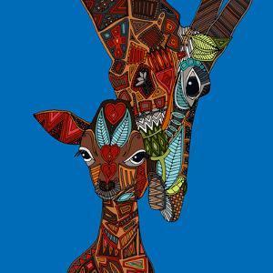 Giraffe Love by Sharon Turner
