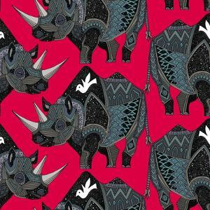 Rhinoceros Red by Sharon Turner