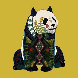 Sitting Panda by Sharon Turner