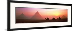 The Great Pyramids of Giza, Egypt by Shashin Koubou