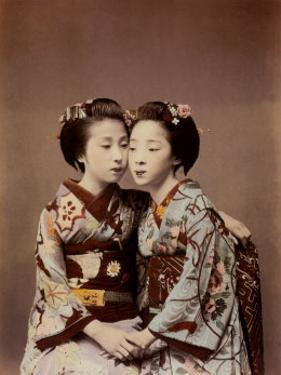 Two Women by Shashin