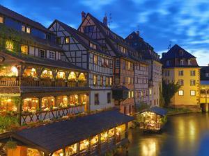 France, Alsace, Strasbourg, La-Petite-France by Shaun Egan