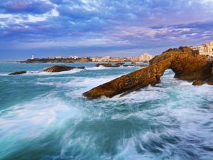 France, Biarritz, Pyrenees-Atlantique, Seascape by Shaun Egan