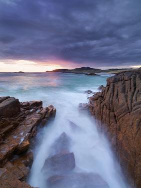Ireland, Co.Donegal, Cruit island  at sunset by Shaun Egan