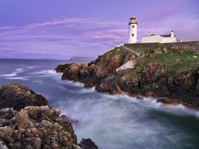 Ireland, Co.Donegal, Fanad, Fanad lighthouse at dusk by Shaun Egan