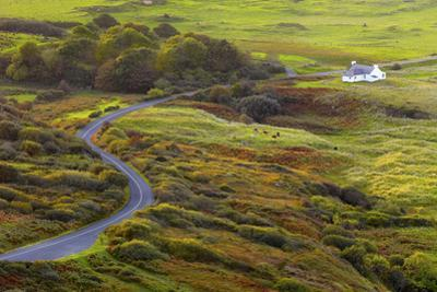 Ireland, Co.Donegal, Fanad, House in rural setting by Shaun Egan