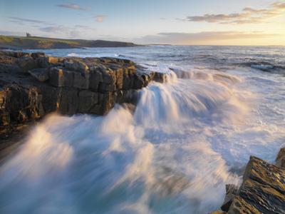 Ireland, Co.Sligo, Mullaghmore at sunset by Shaun Egan