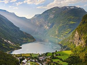 Norway, Western Fjords, Geiranger Fjord by Shaun Egan