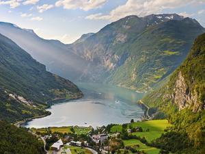 Norway, Western Fjords, Geiranger Fjord by Shaun Egan