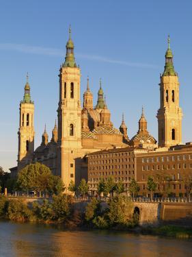 Spain, Aragon Region, Zaragoza, Basilica Del Pilar by Shaun Egan