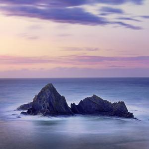Spain, Basque, Ondarroa, Rock Formations at Sea by Shaun Egan