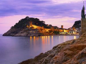 Spain, Catalonia, Costa Brava, Tossa De Mar by Shaun Egan