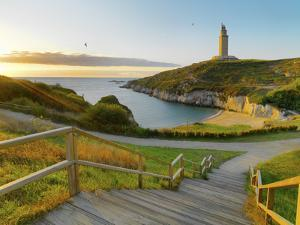 Spain, Galicia, La Coruna, Torre De Hercules by Shaun Egan