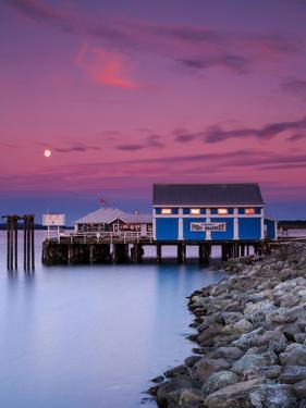 Moon over Sidney Fish Market by Shawn/Corinne Severn