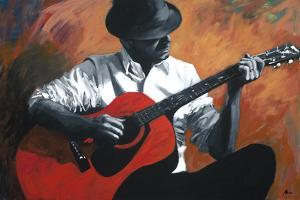 The Guitar Player by Shawn Mackey