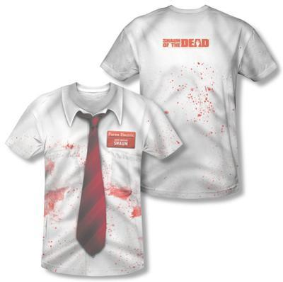 Shawn Of The Dead - Bloody Shirt (Front/Back Print)