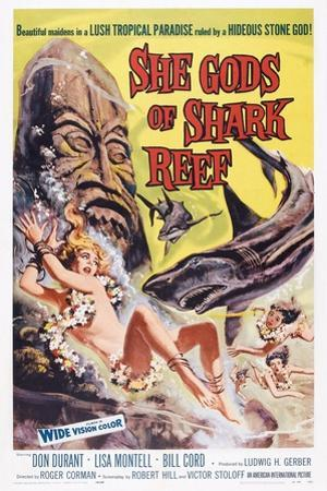 She Gods of Shark Reef, Lisa Montell, 1958