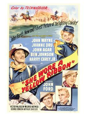 She Wore a Yellow Ribbon, 1949
