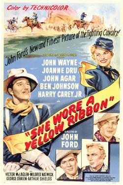 She Wore a Yellow Ribbon, 1949