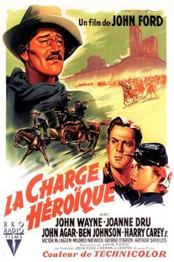 She Wore a Yellow Ribbon, French Movie Poster, 1949