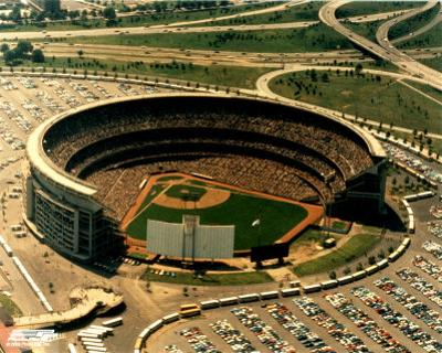 Shea Stadium - Arial View