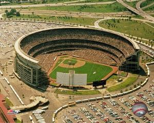 Shea Stadium - Arial View