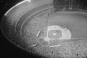 Shea Stadium during Beatles Concert