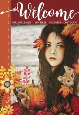 Autumn - Seasons Series - Sign Flag Design by Sheena Pike Art And Illustration