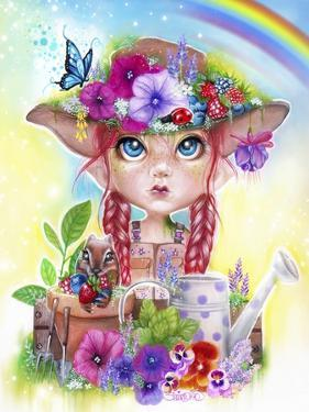 Gracie the Gardener MunchkinZ Elf by Sheena Pike Art And Illustration