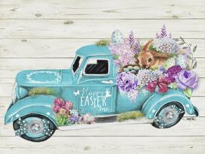 Happy Easter Inc Old Truck Collection by Sheena Pike Art And Illustration