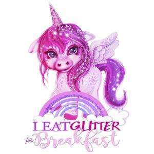 I Eat Glitter For Breakfast by Sheena Pike Art And Illustration