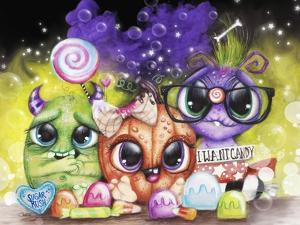 Lil Monsters - Halloween - Landscape by Sheena Pike Art And Illustration
