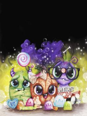 Lil Monsters - Halloween - Portrait by Sheena Pike Art And Illustration