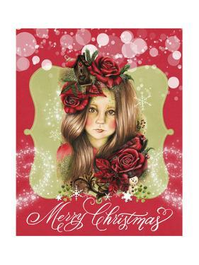 Merry Pixie Blossom - Merry Christmas by Sheena Pike Art And Illustration