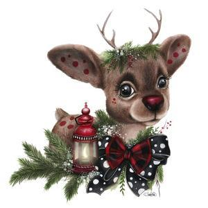 Rudolph by Sheena Pike Art And Illustration
