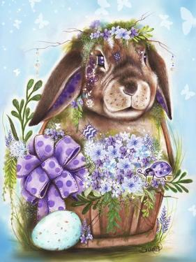 Spring Bunny by Sheena Pike Art And Illustration