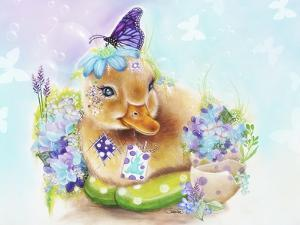 Spring Duckling by Sheena Pike Art And Illustration