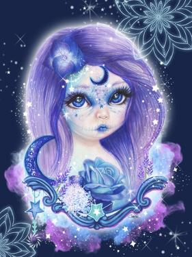 Sugar Sweeties - Galaxy - With Background by Sheena Pike Art And Illustration